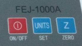 Cân điện tư FEJ -phím chức năng
